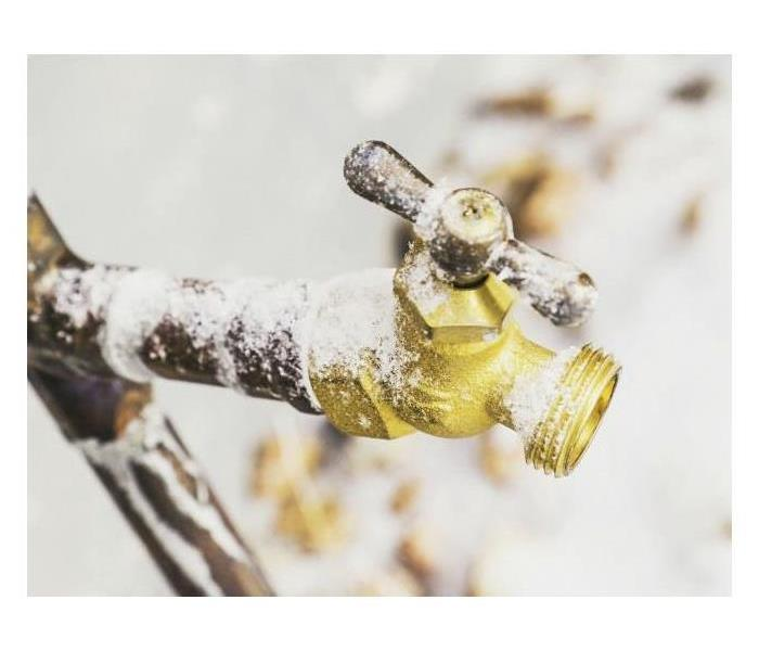 frozen pipes outdoor faucet